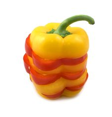 Free Red And Yellow Pepper Stock Photo - 4318920