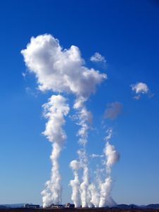 Free Steam Clouds Rising Stock Image - 4319731