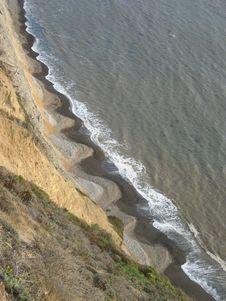 Coastal Waves Stock Photo