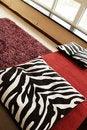Free Sofa With Pillows Stock Photo - 4320180