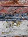 Free Red And Blue Cracked And Peeling Paint Stock Photo - 4328290