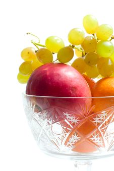 Fruits In Bowl Royalty Free Stock Photography