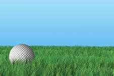 Golf Ball [2] Royalty Free Stock Images