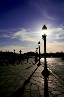 Free Atmosphere In Paris Stock Photo - 4320930