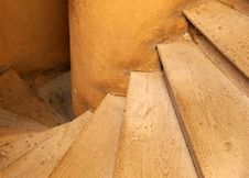 Free Old Stairs Stock Image - 4321081
