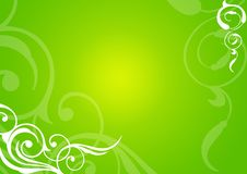 Free Green Floral Background Stock Photo - 4321210