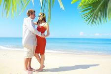 Free Tropic Couple Royalty Free Stock Photo - 4321505