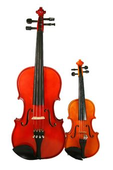 Free Two Violins Royalty Free Stock Photos - 4321538
