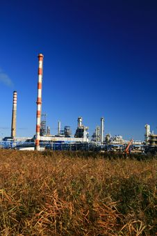 Free Oil Refinery Royalty Free Stock Image - 4321576