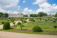 Free Chateau And Garden Chenonceau Royalty Free Stock Photos - 4321728