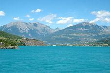 Beautifull Alpine Lake Royalty Free Stock Photo