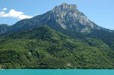 Beautifull Alpine Lake Royalty Free Stock Image