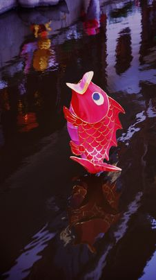 Free Fish Lantern Royalty Free Stock Photo - 4322015