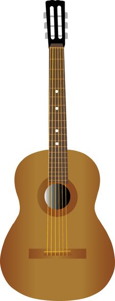 Free Spanish Guitar Stock Photo - 4322210