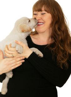 Free Puppy Kiss Royalty Free Stock Photo - 4322805