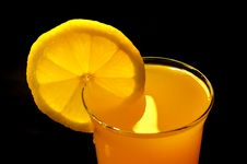 Free Oranges Juice In The Glass Stock Image - 4323001