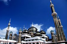 Mirror Mosque Royalty Free Stock Images