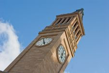 Free Brisbane City Hall Clock Tower 1 Royalty Free Stock Photo - 4323795