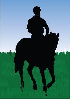 Free Horseman Royalty Free Stock Photo - 4324255