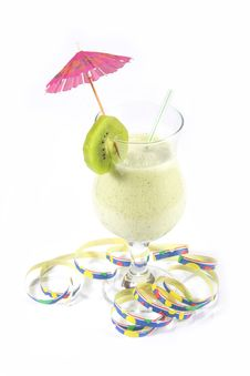 Free Kiwi Cocktail Royalty Free Stock Images - 4324569