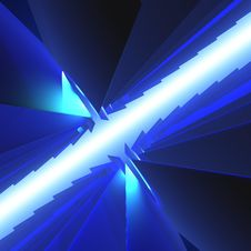 Free Blue Abstract Stock Image - 4325451