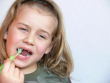 Free Brushing Teeth Royalty Free Stock Image - 4325756