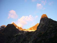 Free Tatry Mountain In The Autumm Stock Photos - 4326343