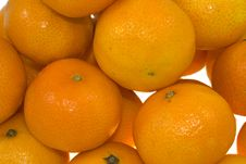 Free Many Tangerines Zoom Royalty Free Stock Image - 4326776