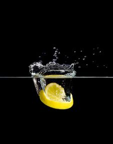 Free Lemon Fall Royalty Free Stock Photo - 4326945