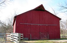 Free Red Barn Stock Photo - 4327410
