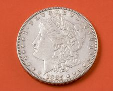 Free Morgan Silver Dollar Stock Photos - 4327483