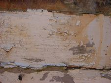 Free Old Peeling Paint On Board Royalty Free Stock Photo - 4328085