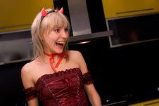 Free Blond Devill Stock Image - 4328101