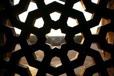 Free Pattern Window At Humayun Tomb, Delhi Royalty Free Stock Image - 4329436