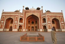 Free Humayun Tomb, Delhi, India Stock Photography - 4329462