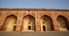 Free Arches At Humayun Tomb, Delhi Royalty Free Stock Photography - 4329487