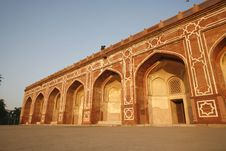 Free Arches At Humayun Tomb, Delhi Stock Photo - 4329490