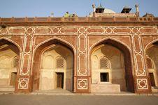 Free Arches At Humayun Tomb, Delhi Stock Photo - 4329500