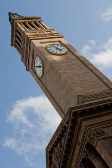 Free Brisbane City Hall Clock Tower 2 Stock Photography - 4329622