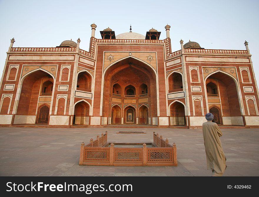 Humayun Tomb, Delhi, India