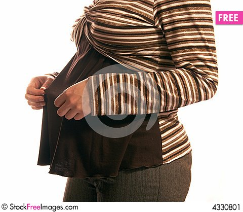 Free Pregnant Woman Stock Image - 4330801