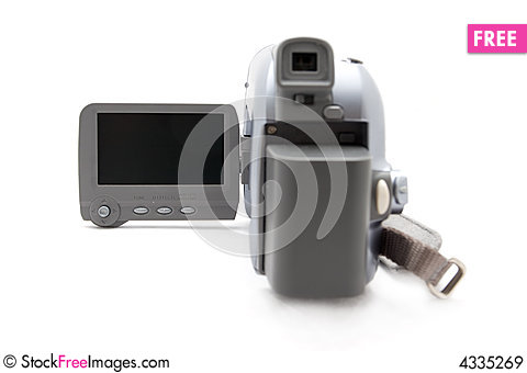 Free Digital Video Camera Royalty Free Stock Images - 4335269