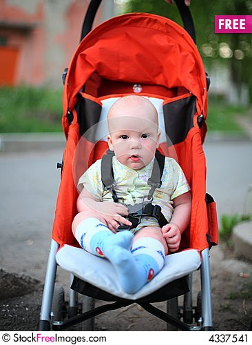 Baby In Sitting Stroller - Free Stock Photos & Images - 4337541 ...