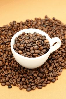 Free Coffee Beans Royalty Free Stock Photography - 4330887