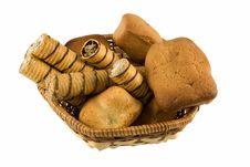 Free Dessert Basket Royalty Free Stock Image - 4331756