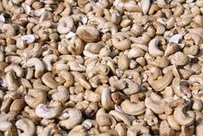 Free Dried Cashew Nuts Display Stock Photos - 4331993