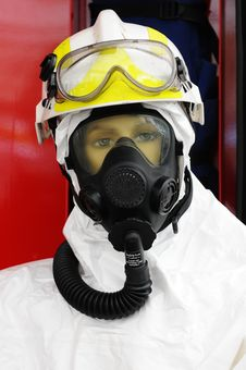 Free Fireman Mannequin Stock Image - 4332611
