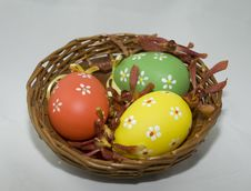 Free Easter Basket Royalty Free Stock Images - 4332649