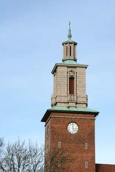 Free Restored Church Tower Stock Photos - 4334173