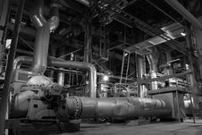 Free Piping At A Power Plant Royalty Free Stock Photos - 4334428